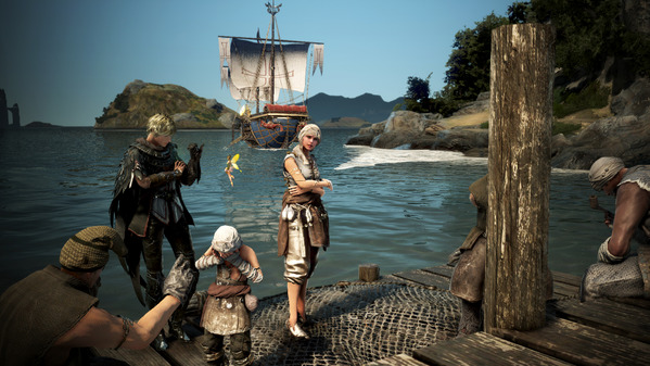 黒い砂漠 アーチャー 海賊島
