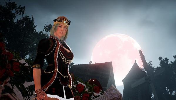 黒い砂漠 ヴァルキリー 光の女王 ハロウィン