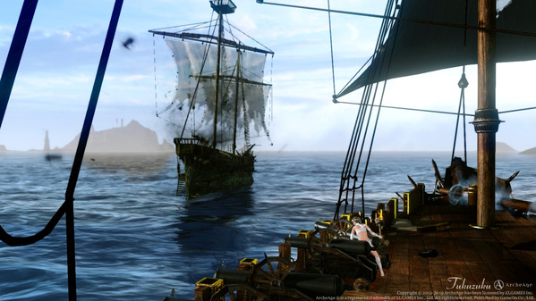 ArcheAge 幽霊船討伐