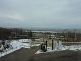雪景色の園内