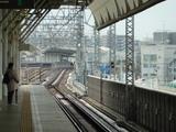 二子玉川駅で乗り換え