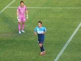 後半31分、横浜FCがコーナーキックのチャンス