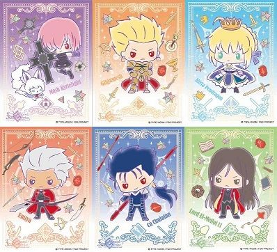 Fate Grand Order Design produced by Sanrio スリーブ 20180223