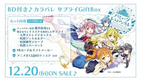 ヴァンガード BD付き♪カラパレ サプライGiftBox 20191220