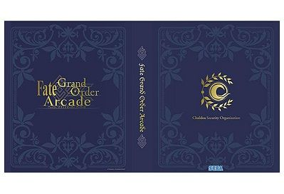 Fate Grand Order Arcade カードバインダー 201812