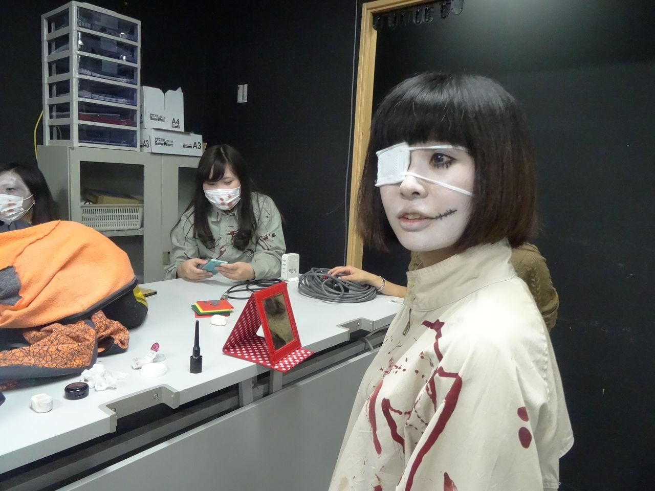 音響芸術学科Blog  学校祭! お化け屋敷編コメント