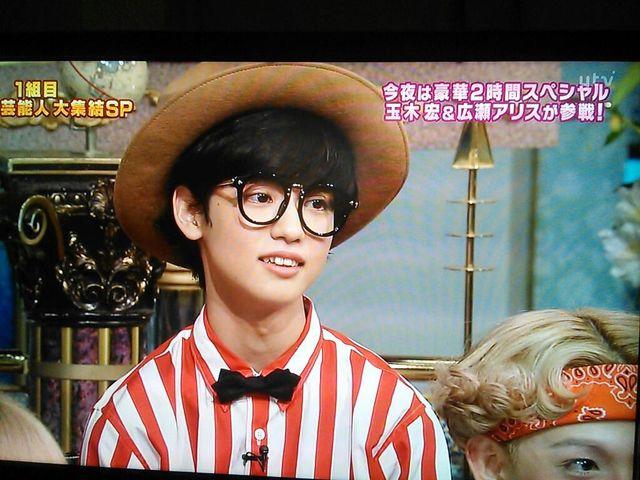 【話題】17歳美少年 ゆうたろう ジェンダーレス男子 さんま御殿出演 くいだおれ太郎ファッション画像あり