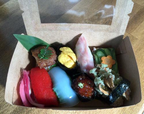 ベジ海鮮寿司(箱)-1