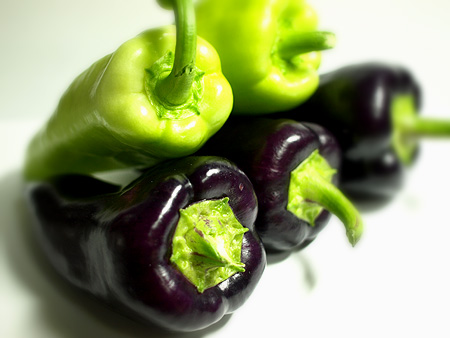 紫ピーマン1