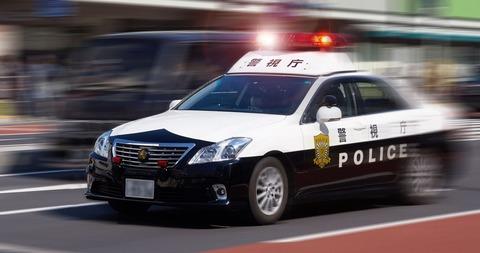 警察ってノロノロ運転