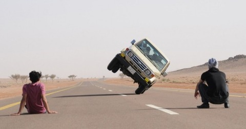 田舎者の運転荒すぎ