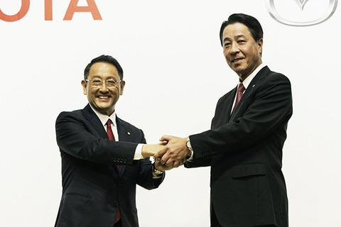 トヨタとマツda