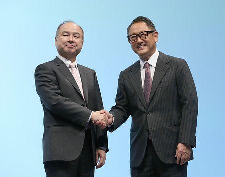 【企業】トヨタ自動車の豊田章男社長、ソフトバンク孫正義社長に謝罪