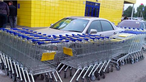 迷惑駐車にダメージを与える方法
