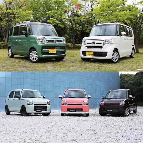 軽自動車、日本