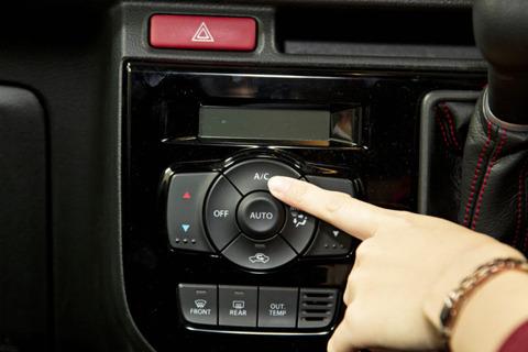 車のオプションでエアコン