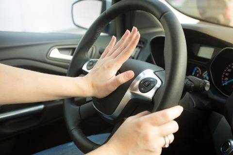運転中に隣の奴が勝手にクラクション鳴らすのを止めさせたい・・・・