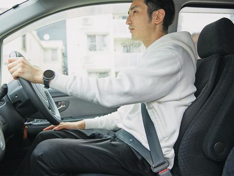車を運転するやつ