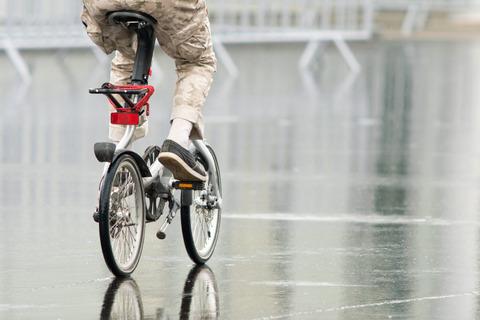 自転車ばっかり使ってる