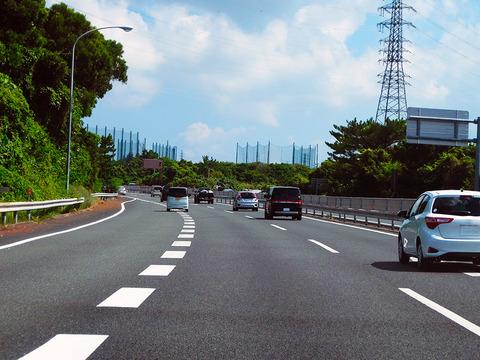 高速道路に入るときの合流