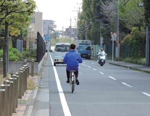 自転車は車道走れって言い出した奴誰なの?