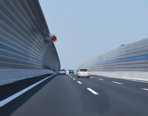 高速道路で出すスピード