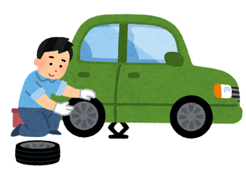 スタッドレスタイヤに変えるタイミング