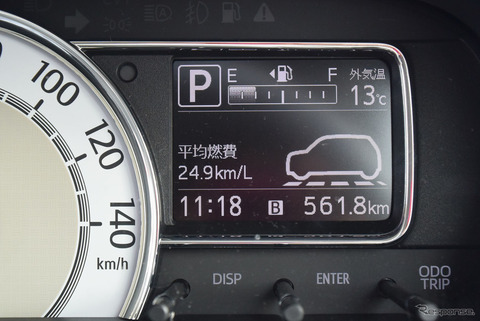 車の燃費が全然伸びない