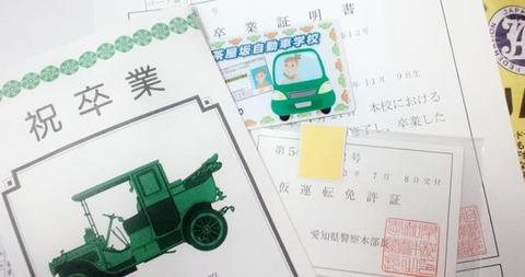 【悲報】ワイ、今日運転免許の卒業検定がある模様wwwww