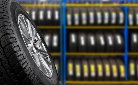 タイヤを買う