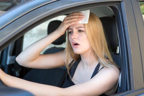 車の冷房つけると最初すげー臭い