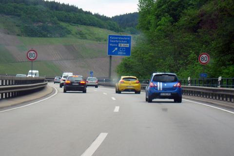 車の制限速度
