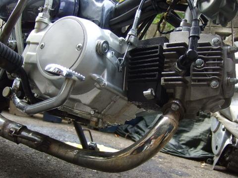 カブのエンジン