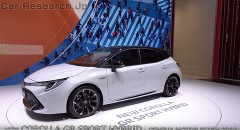 トヨタ・カローラGRスポーツ動画、GRブランドに新型COROLLA導入