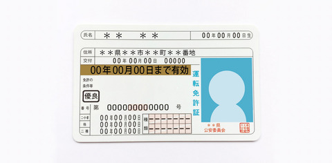 運転免許の住所変更
