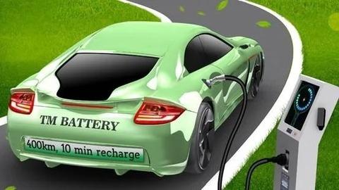 10分の急速充電を可能とした「電気自動車用バッテリー」が登場 決め手は充電時の加熱