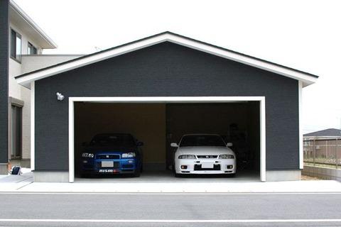車2台入るガレージ建てるのっていくらかかる??