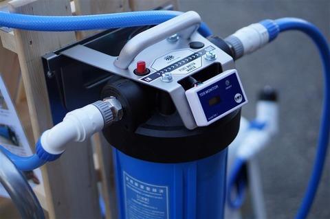 洗車用の純水器設置