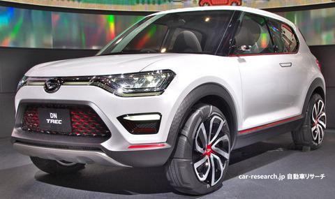 ダイハツ生産のSUVが2019年夏発売予定、ビーゴ/トヨタ ラッシュ後継