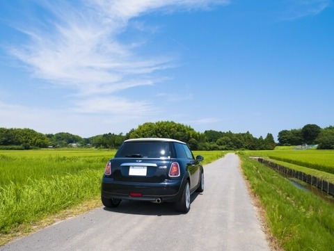田舎は車必須