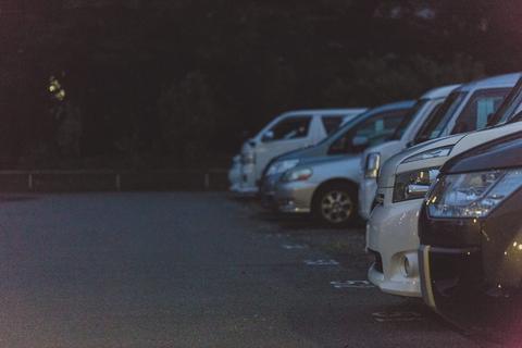 月決め駐車場に約40分間無断駐車