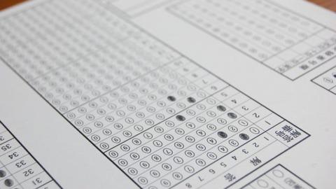 免許の筆記試験