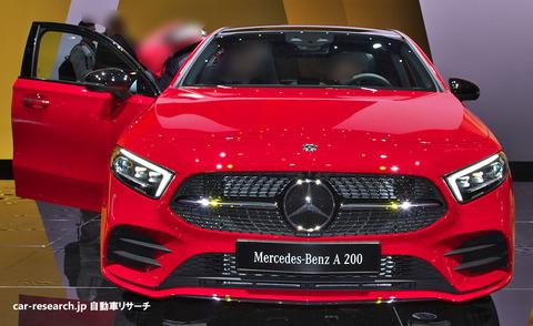 メルセデスベンツ新型Aクラスが2018年10月16日に日本発売
