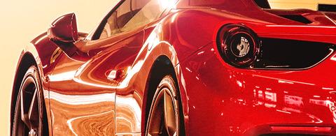 車のカラーを「赤」