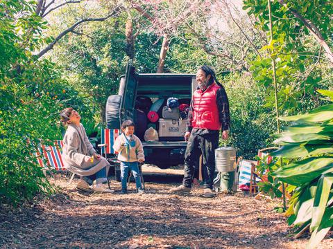 SUVを買えば家族でキャンプ