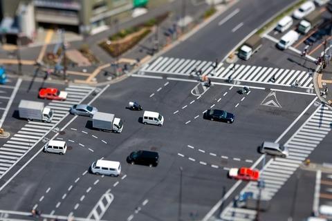 交差点での優先関係