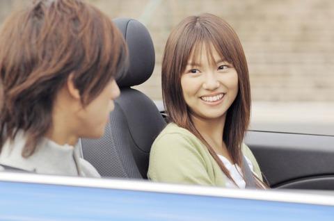 女友だちとドライブ