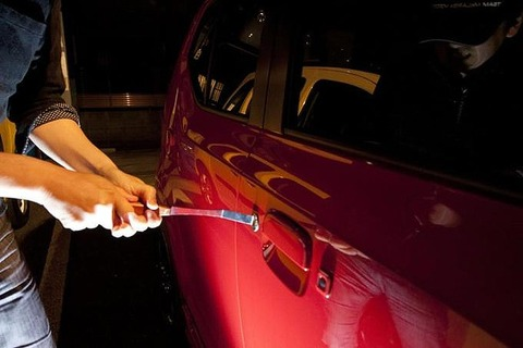 【一体なぜ】茨城、自動車盗被害全国ワースト 1~7月で825件 人気車はプリウスで全体の26%