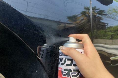車のクリア塗装
