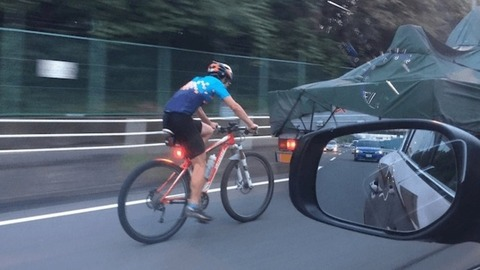 車乗ってる人に聞きたいんだが、ロードバイク走ってたら邪魔??
